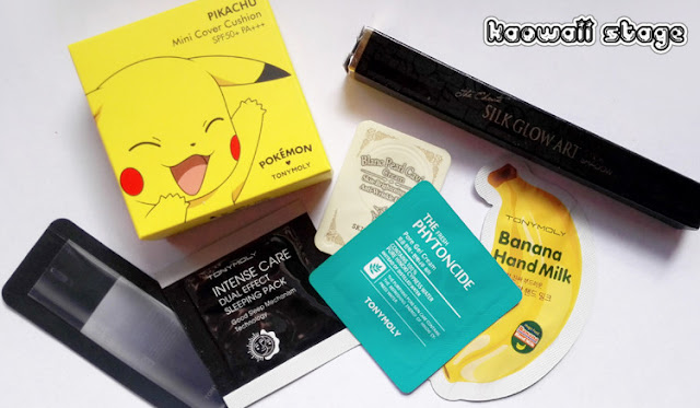 tony moly pokemon cushion