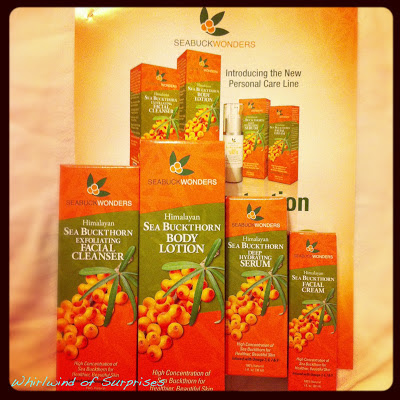seabuckthorn berry skincare line review