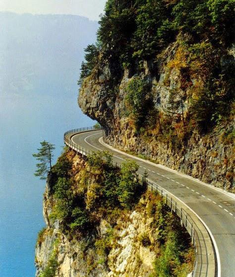 cliff road