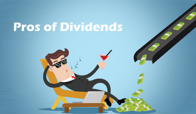 Pros of Dividends