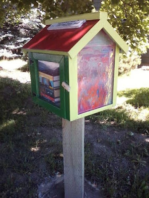 Little Free Library - book depository