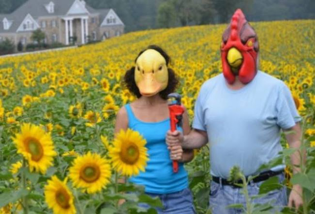 foto pasangan terunik terlucu teraneh dan ternorak di dunia-13