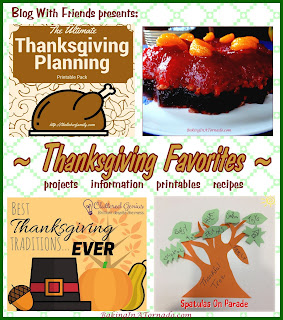 BakingInATornado.com  Blog With Friends, monthly project blog posts based on a theme. November theme is Thanksgiving Favorites | www.BakingInATornado.com | #MyGraphics