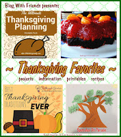 BakingInATornado.com  Blog With Friends, monthly project blog posts based on a theme. November theme is Thanksgiving Favorites | www.BakingInATornado.com | #MyGraphics