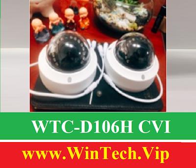 Camera CVI WinTech WTC-D106H C Độ phân giải 2.0 MP