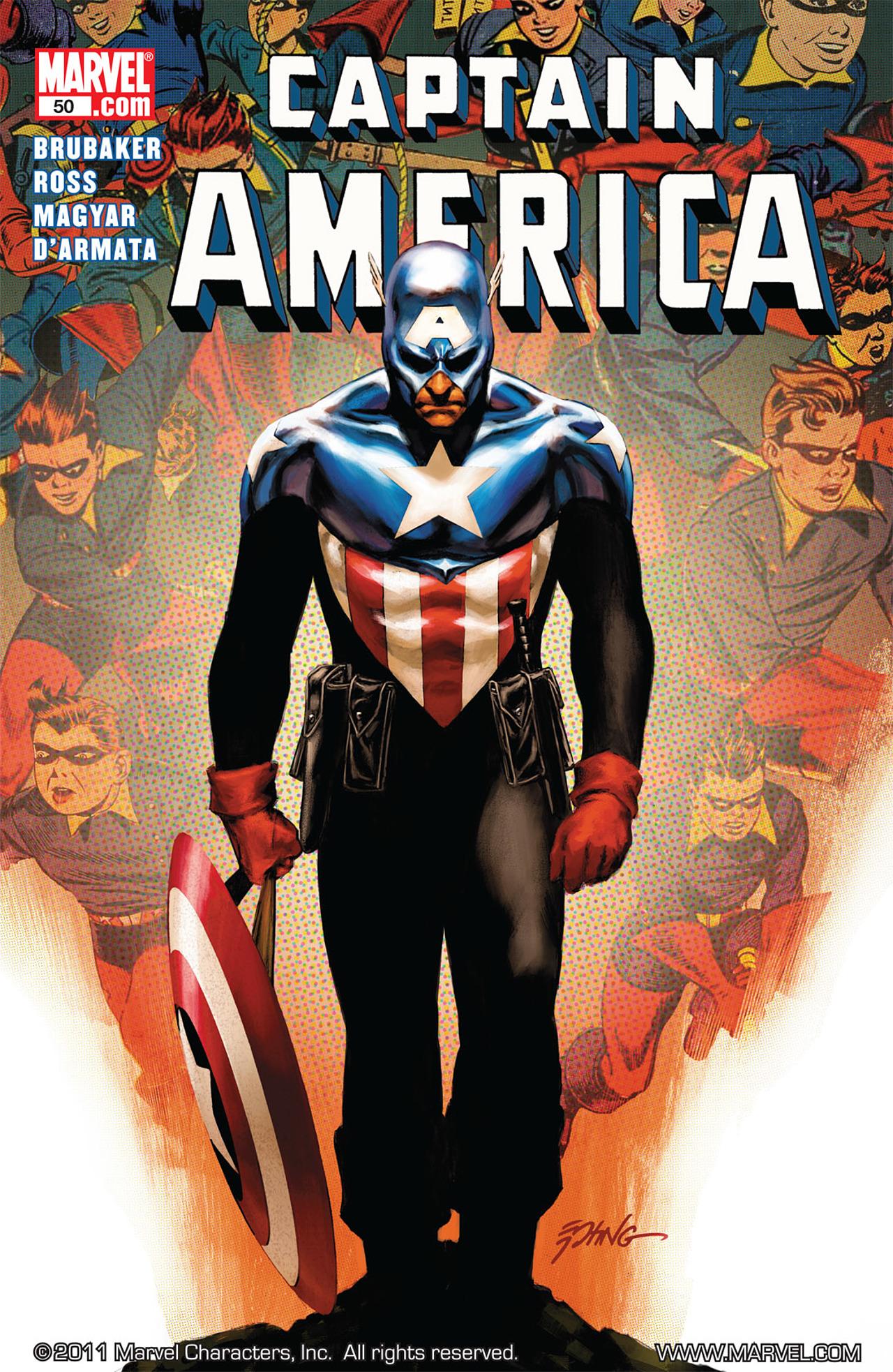 Read online Captain America (2005) comic -  Issue #50 - 1