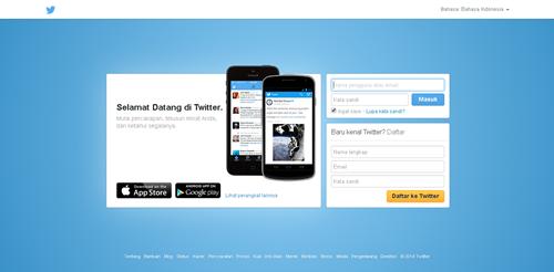 Twitter di Tahun 2014