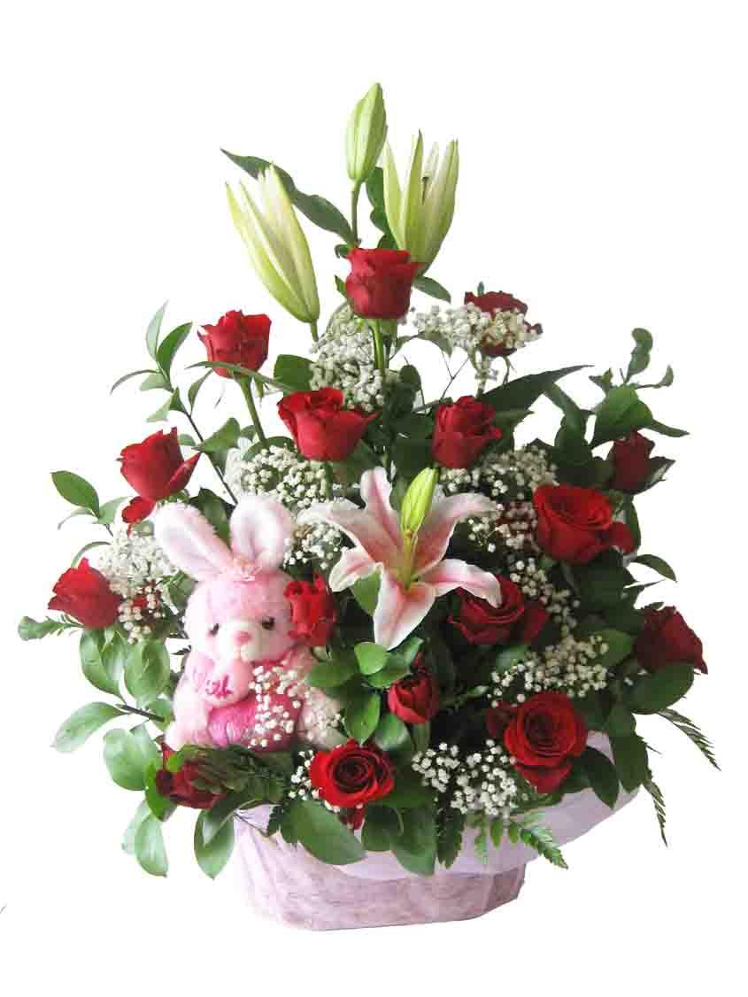 Bunga Meja Toko Cikarang Jual Karangan Rangkaian Vas Batu Flower Sangat Tergantung Dari Kombinasi Yang Dipakai Apakah Menggunakan Segar Impor Maupun Lokal
