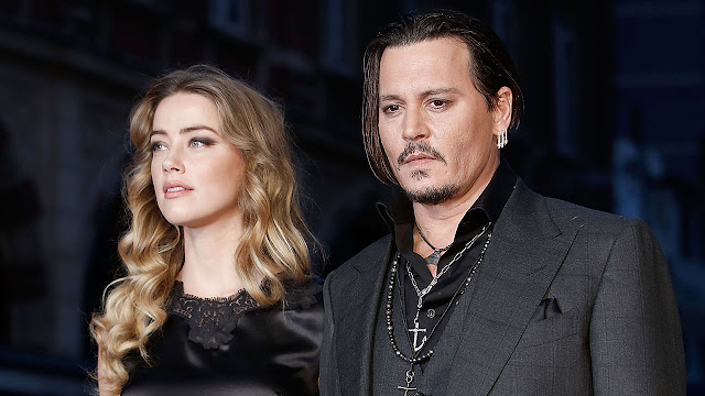 Johnny Depp First Wife- Amber Heard