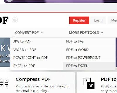 Cara Merubah File PDF Ke File Microsoft Excel Dengan Cepat