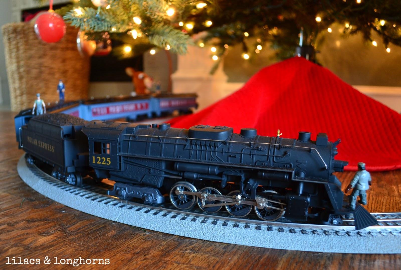 Lionel Polar Express Train Set For Around The Christmas Tree |Polar Express Train Set Christmas Tree