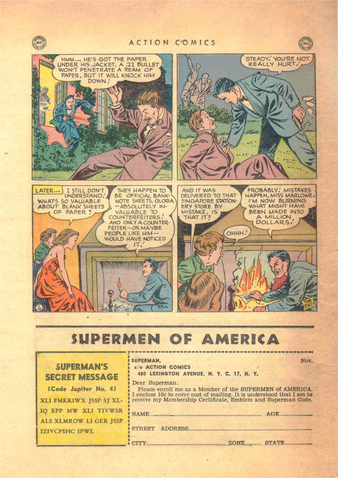 Read online Action Comics (1938) comic -  Issue #138 - 37
