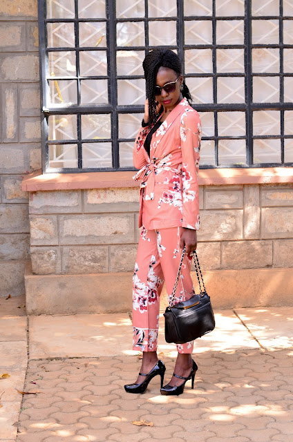 How To Wear The Pajama Suit Look 2
