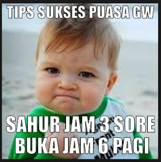 Gambar Lucu Puasa Ramadhan Buat Status Whatsapp WA