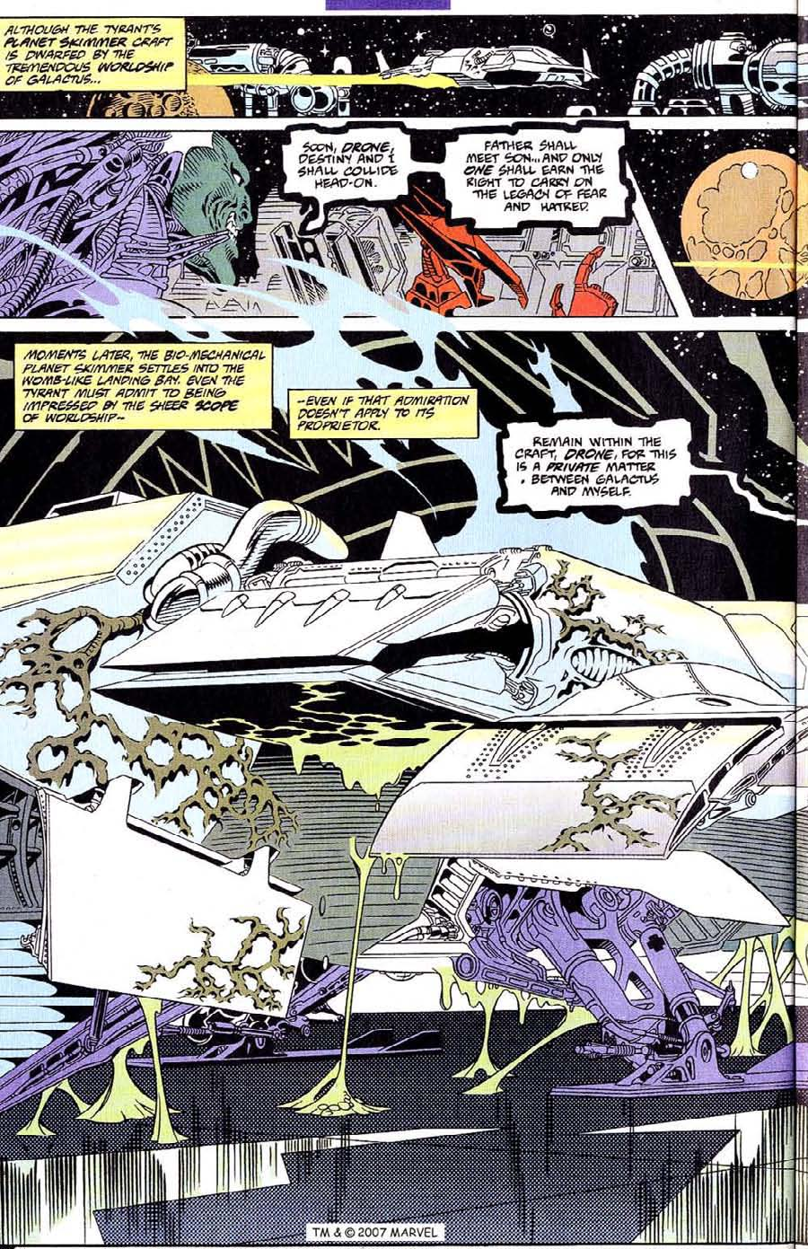 Read online Silver Surfer (1987) comic -  Issue #107 - 24