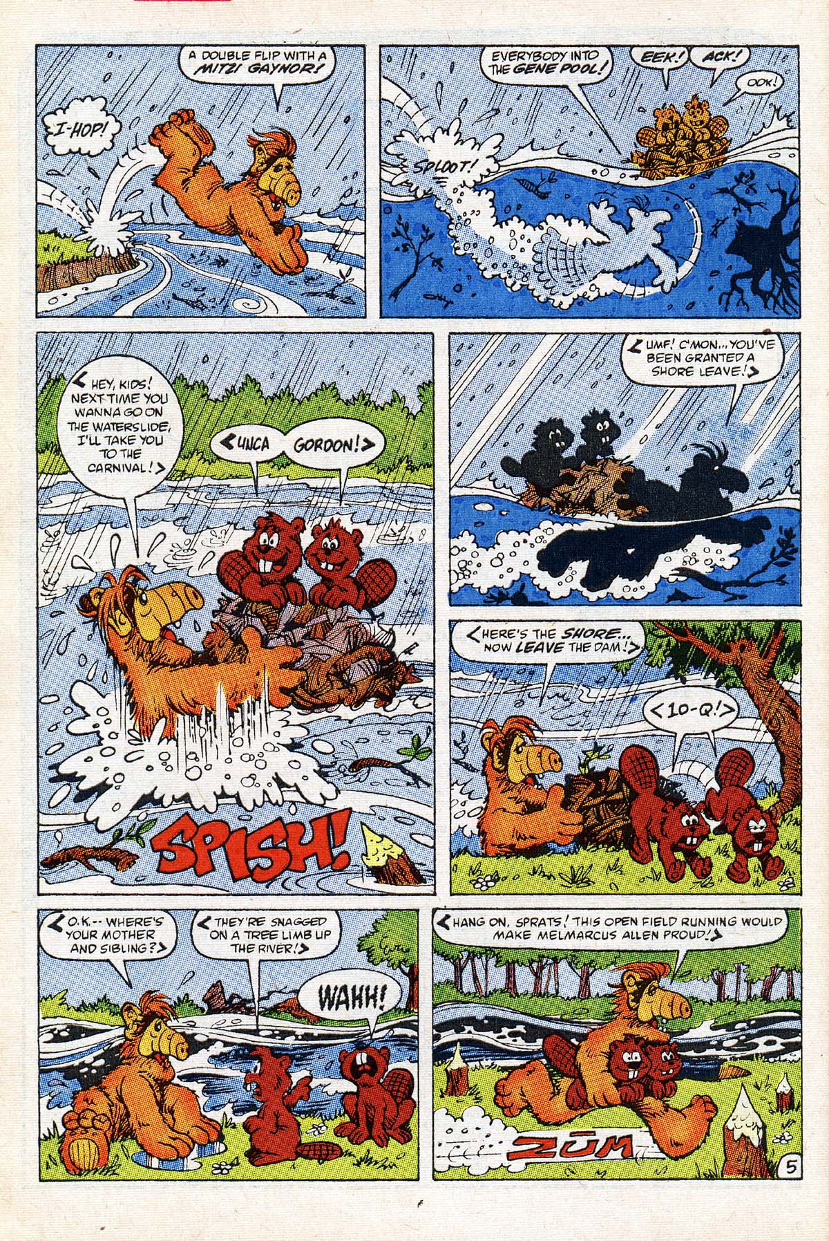 Read online ALF comic -  Issue #21 - 6