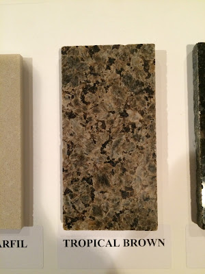 Fireplace Granite Surround Tropical Brown