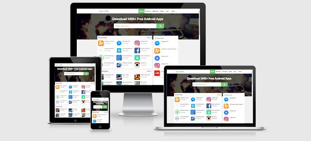 Template Sure APK Download App - Ung Dung Dep Cho Blogspot