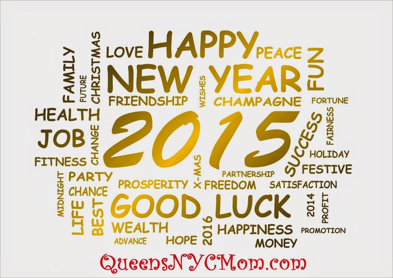 HAPPY NEW YEAR 2015 ~ QueensNYCMom