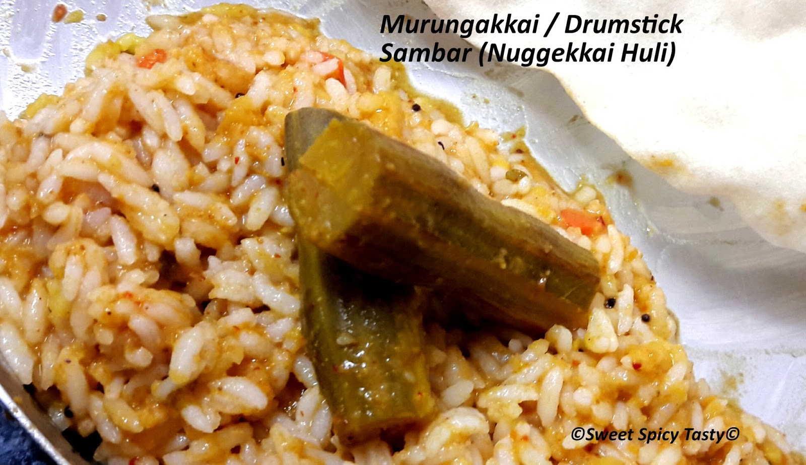 how to make drumstick sambar