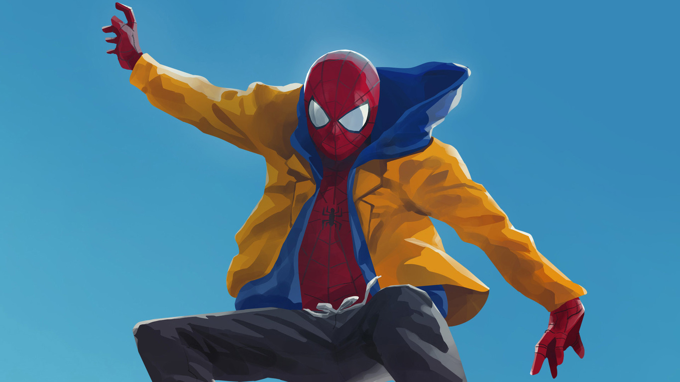 41 Spiderman Into The Spider Verse Wallpaper