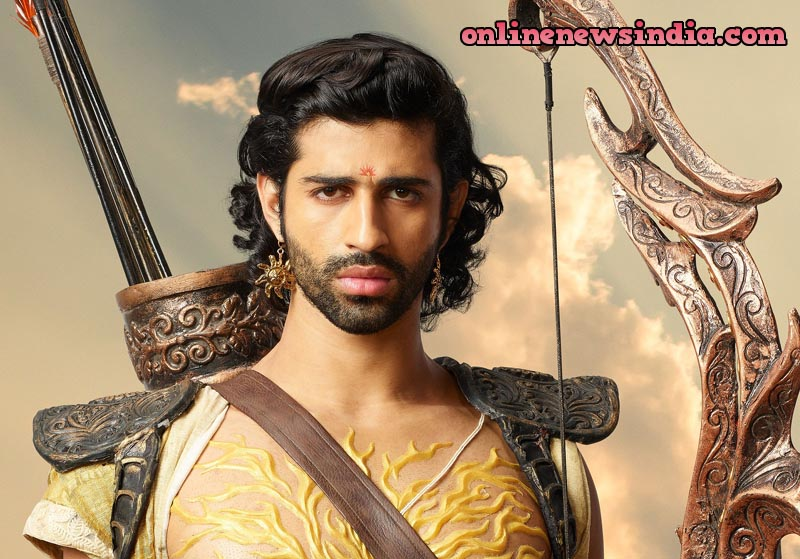 Ashim Gulati as Karn in KarnSangini