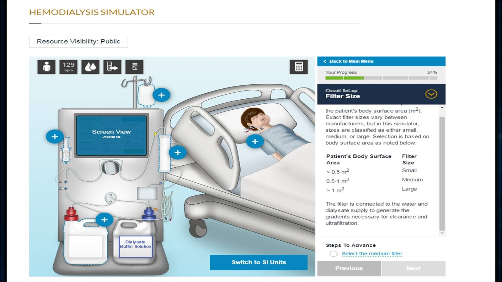Hemodialysis Simulator Renal Fellow Network Web Circuit I Ran Into A Colleague From Childrens Hospital Over The Weekend And She Pointed Me In Direction Of This Great Education Website That They Have Created