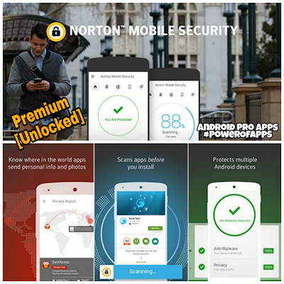 تحميل Norton mobile security نسخه بريميوم