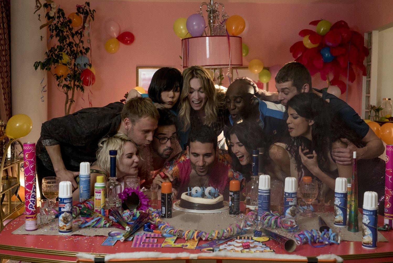 El reparto de Sense8 en el especial de Navidad, Netflix