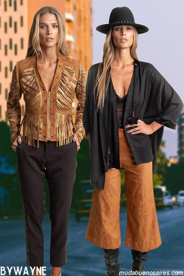 Moda con estilo casual chic urbano en el invierno 2019 de Silvina Ledesma. Moda Argentina otoño invierno 2019 vestidos, blusas y pantalones.