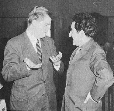 William J. Lombardy y Tigran V. Petrosian