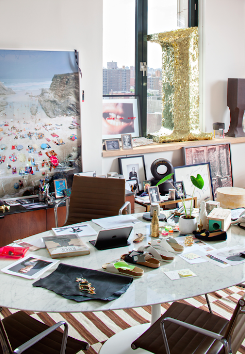 Chic at Work: Jenna Lyons New Office