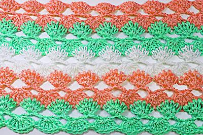 3 - Crochet IMAGEN Puntada a crochet y ganchillo para primavera muy facil y rapido. MAJOVEL CROCHET
