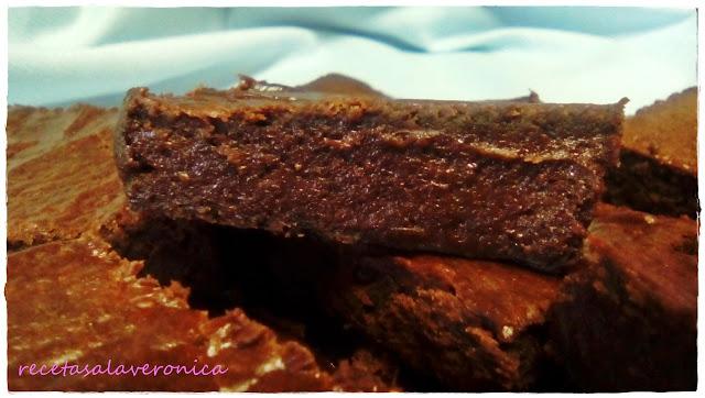 avocado-brownie, brownie-de-chocolate-y-aguacate