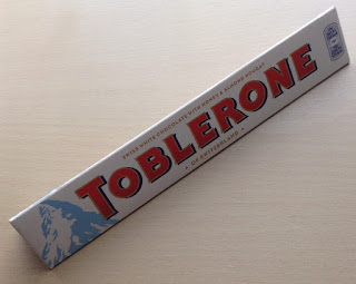 white chocolate toblerone