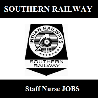 Southern Railway, SR, Tamil Nadu, TN, RAILWAY, Indian Railways, Staff Nurse, 12th, freejobalert, Sarkari Naukri, Latest Jobs, southern railway logo
