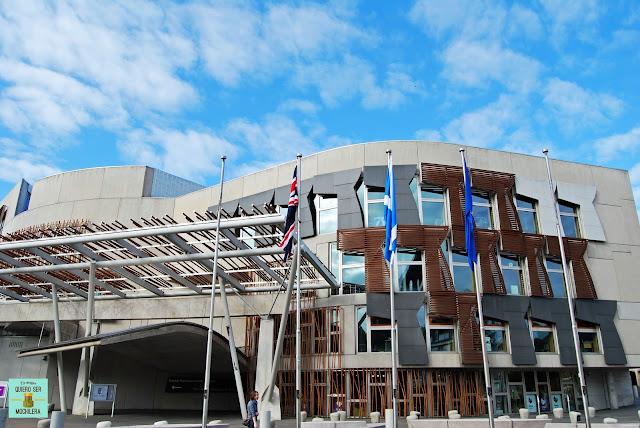 Parlamento Escocés, Edimburgo