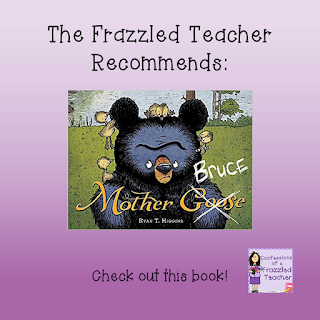 "Picture of the book Mother Bruce and wording ""The Frazzled Teacher Recommends: Mother Bruce"""