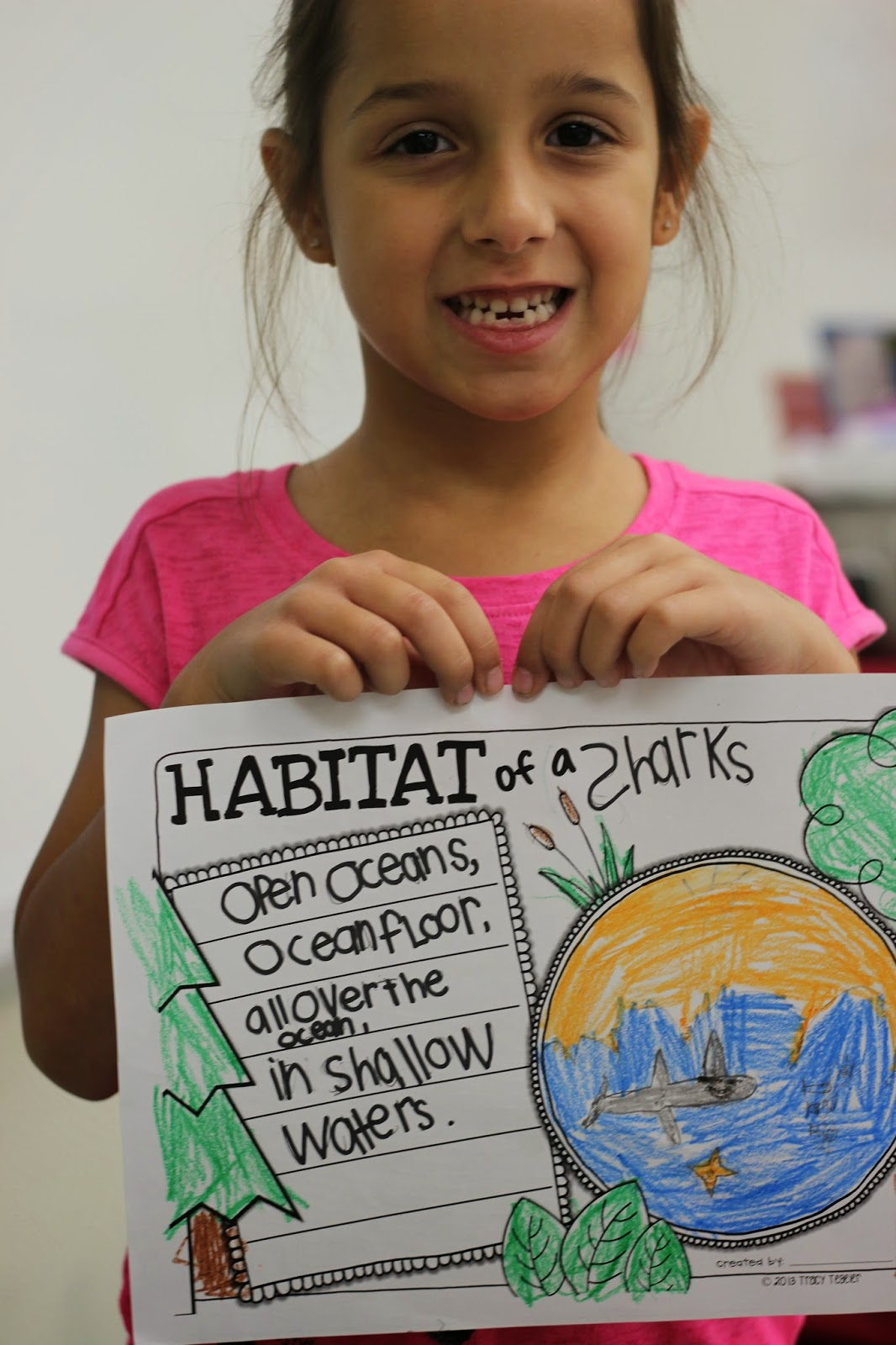 Kindergarten Smiles Animal Research Project