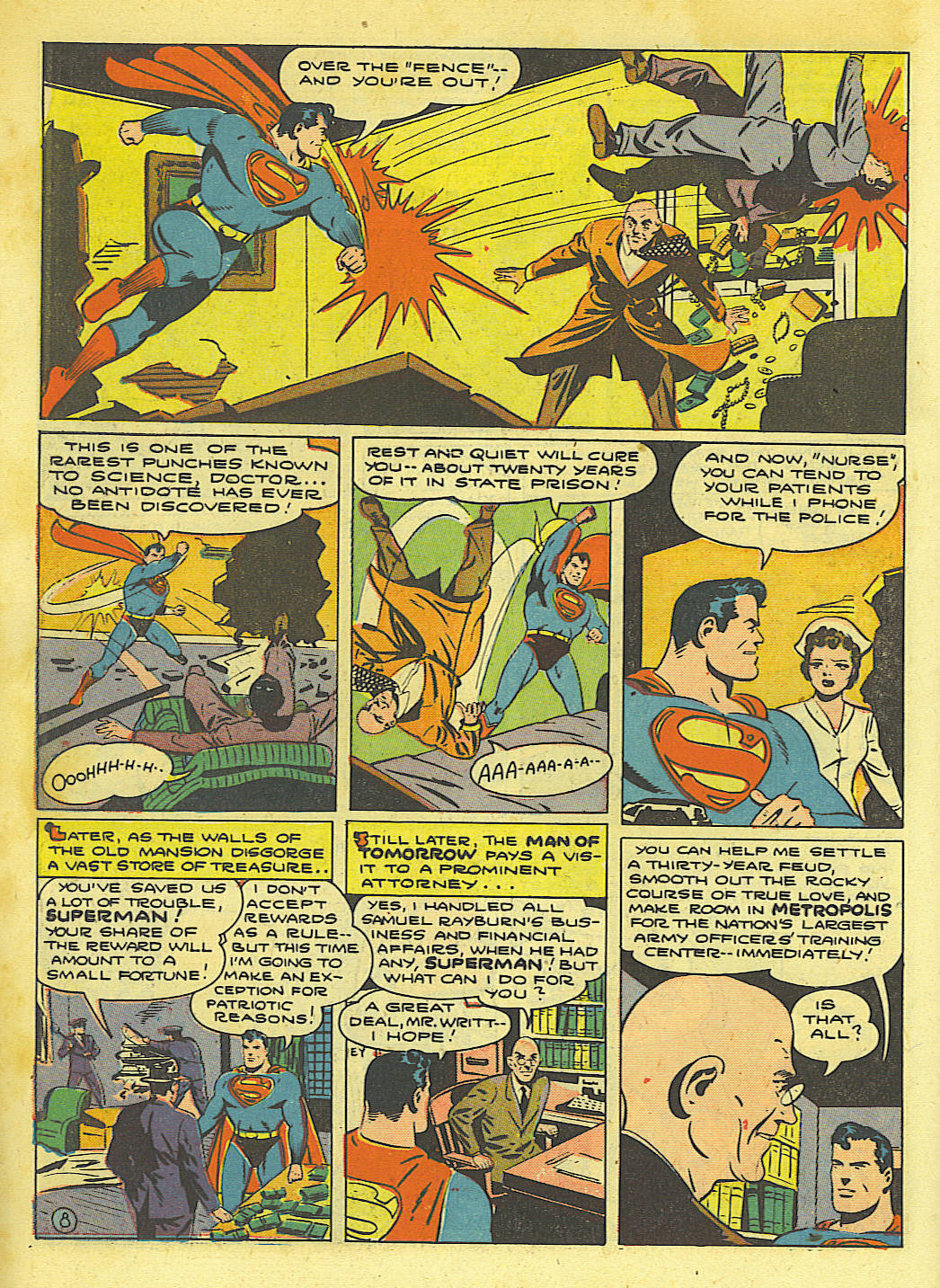 Read online Action Comics (1938) comic -  Issue #67 - 10