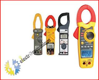 Appareil  Pince wattmétrique (sous tension)