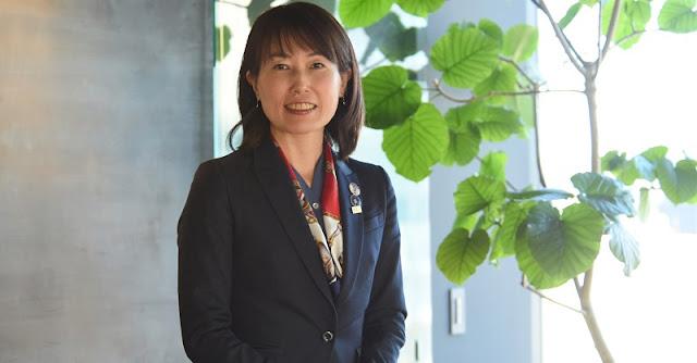 Naoko Yamazaki. Credit: The Japan Times