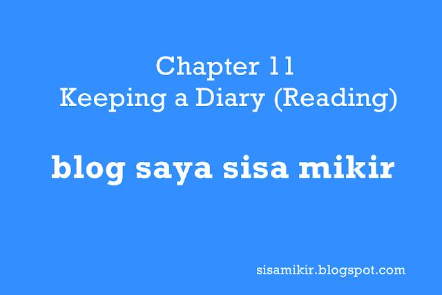 Chapter 11 Keeping a Diary (Reading),kunci jawaban buku bahasa inggris kelas 10 kurikulum 2013 semester 2,terjemahan,google translate
