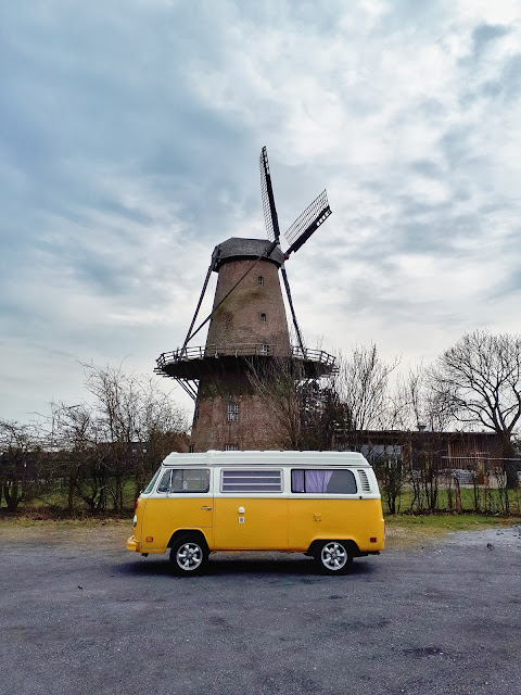 Rose my vintage T2 Westfalia van in Xanten | Vanlife