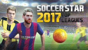 Download Soccer Star 2017 Top Leagues MOD APK v0.3.7 Full Update (Unlimited Money) Terbaru April 2017