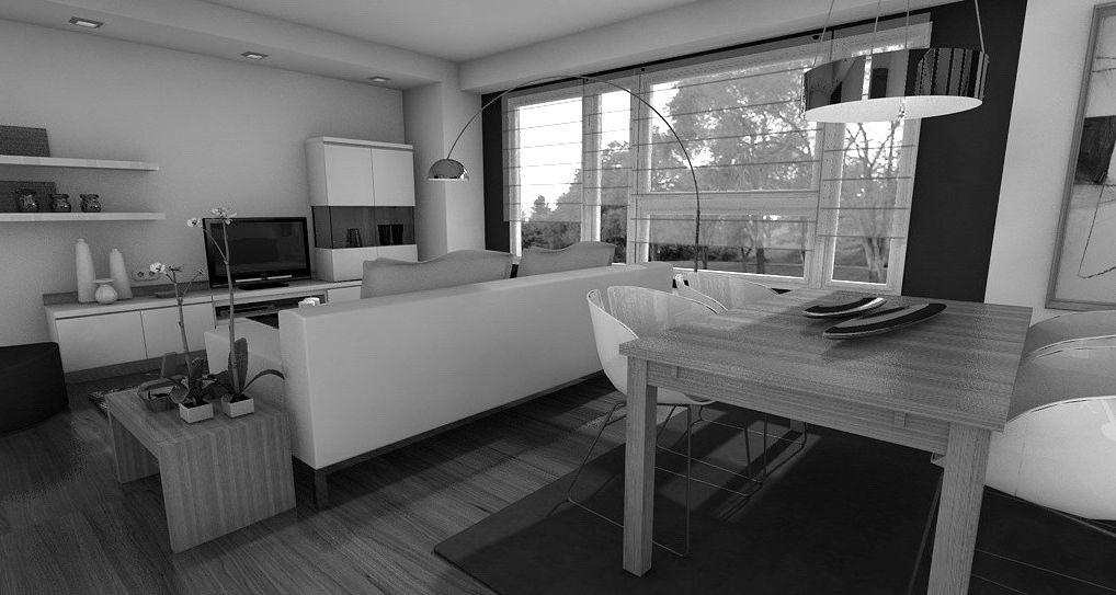 Arquitectura interiorismo c mo distribuir un sal n comedor - Distribucion salon ...
