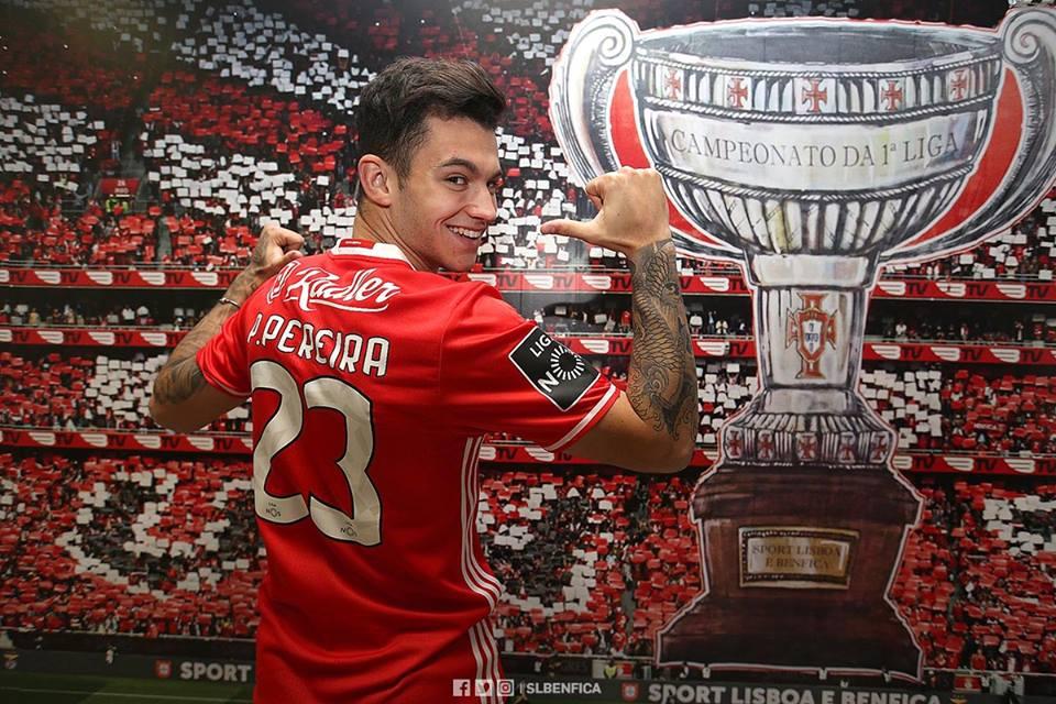 a3d32b1c49840 Pedro Pereira  Não será o primeiro a quem a camisola do Benfica pesa mais  do que as outras