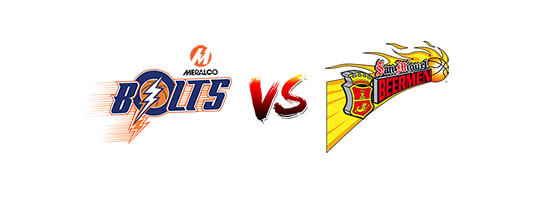 Meralco Bolts vs San Miguel Beermen - 7:00pm