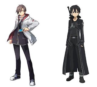 Kou from Xanadu looks Llike kirito From SAO