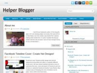 Helper Blogger Blogger Template